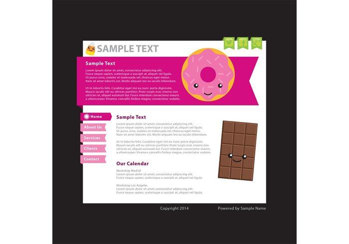diseño blog pagina web
