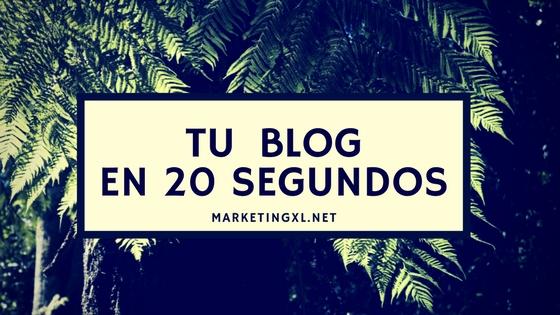 Cómo crear tu blog en menos de 30 minutos